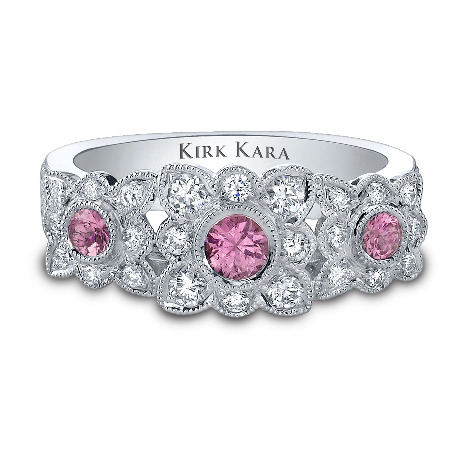 Kirk Kara Platinum Engagement Ring