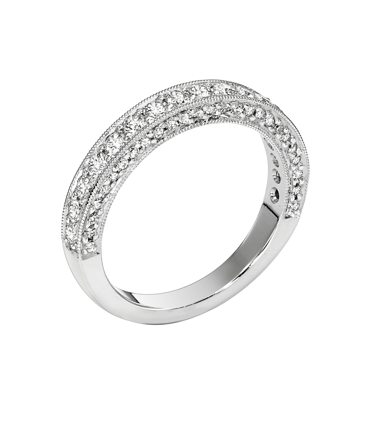 Lieberfarb Platinum Wedding Band