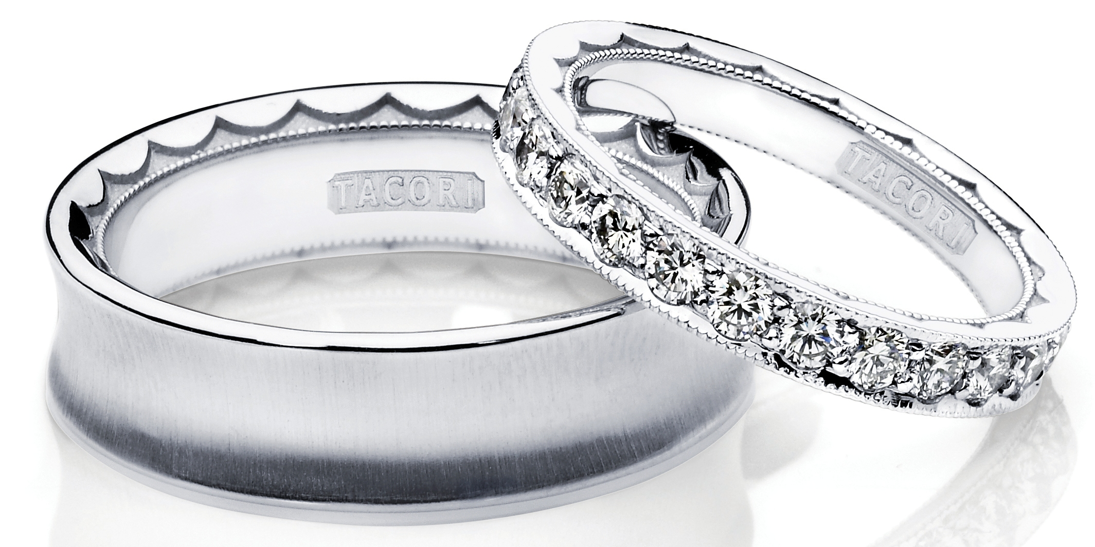 Tacori His and Hers Bands