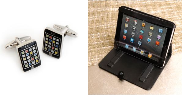apple holiday pack iphone cufflinks ipad case