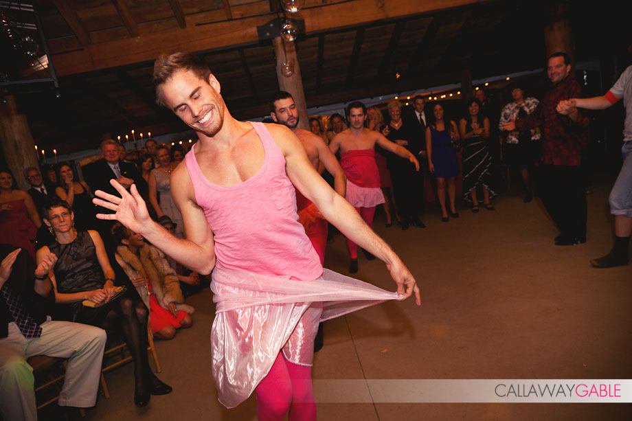 stephen stagliano pink tutu wedding