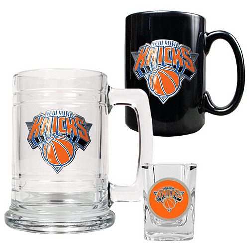 knicks tankard mug shot glass glassware set