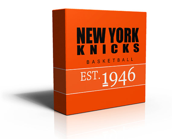 knicks canvas print