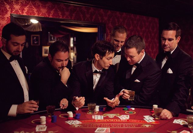 groom casino bachelor party