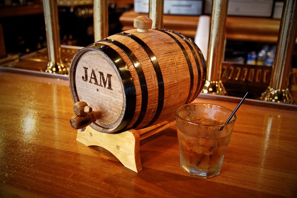 2 liter bluegrass bourbon barrel