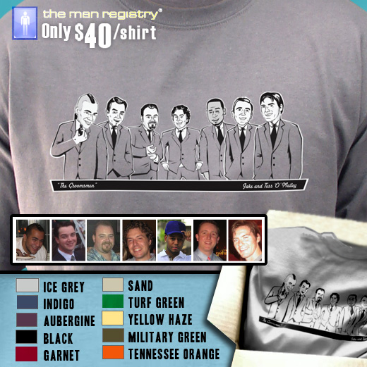 custom groomsmen t-shirts