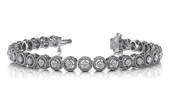 diamond tennis bracelet anjolee