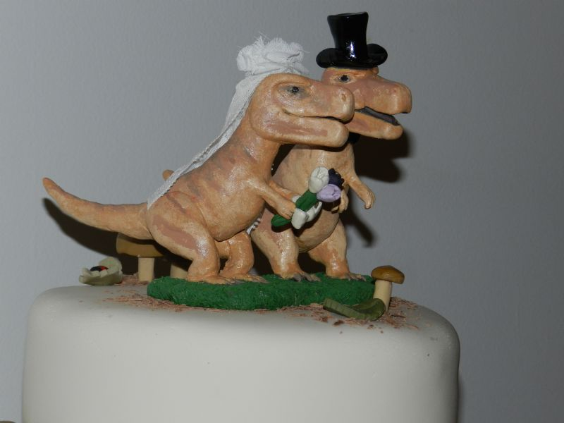 groomzilla wedding cake topper