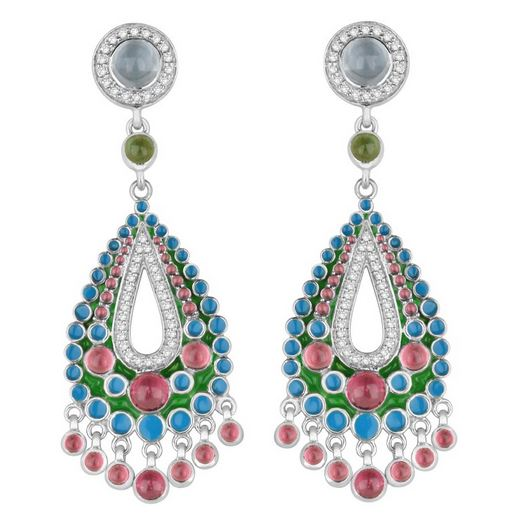 joan park argyle earrings