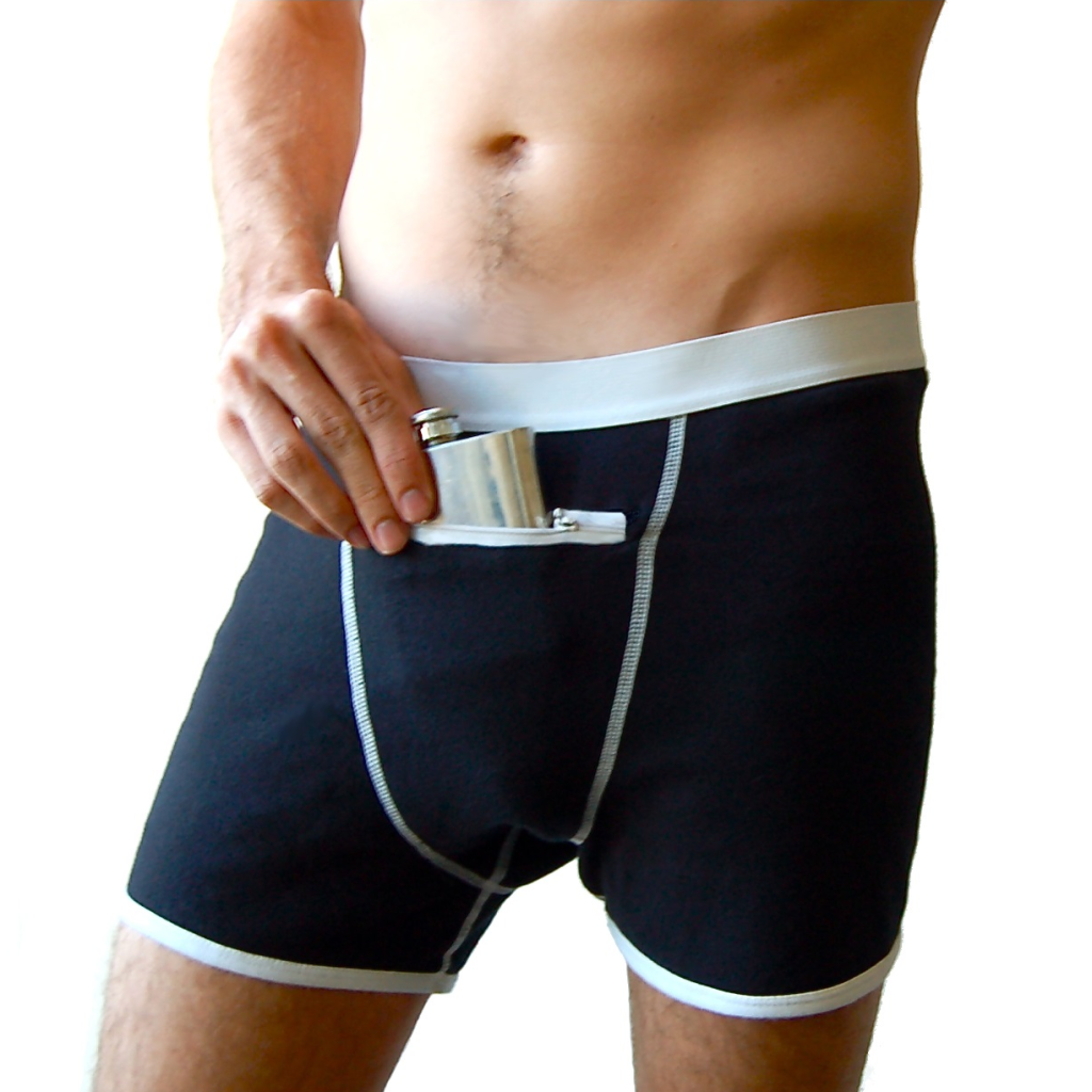 speakeasy briefs underwear flask