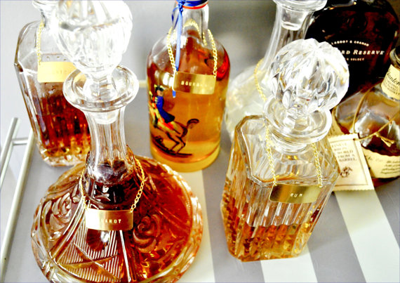 Modern-Gold-Decanter-Labels