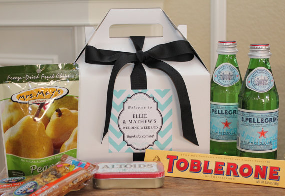 6 steps to creating killer guest welcome gifts for Wedding welcome gifts for out of town guests
