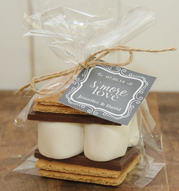 wedding smores kits