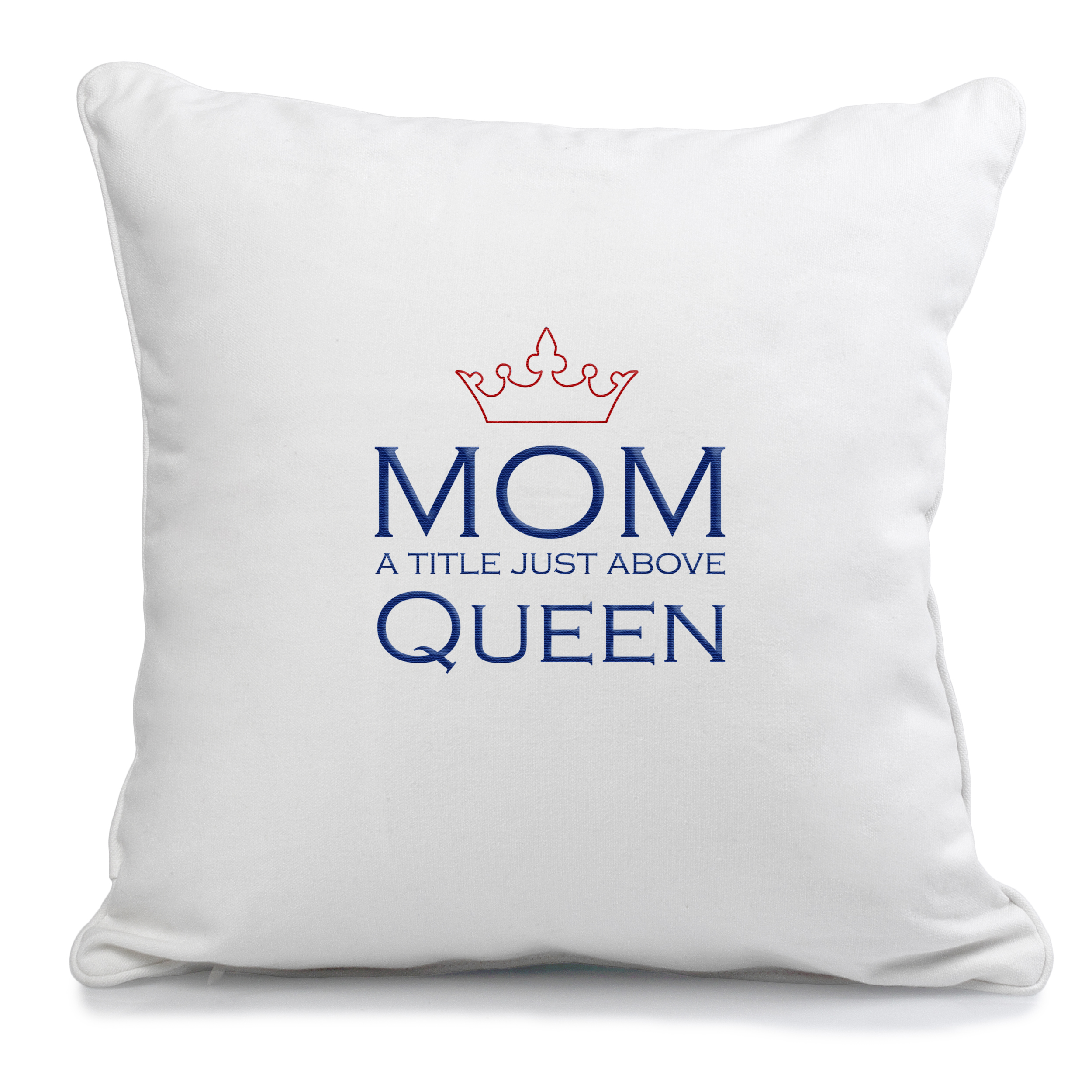Show mom how royal she is with this pillow boasting a crown