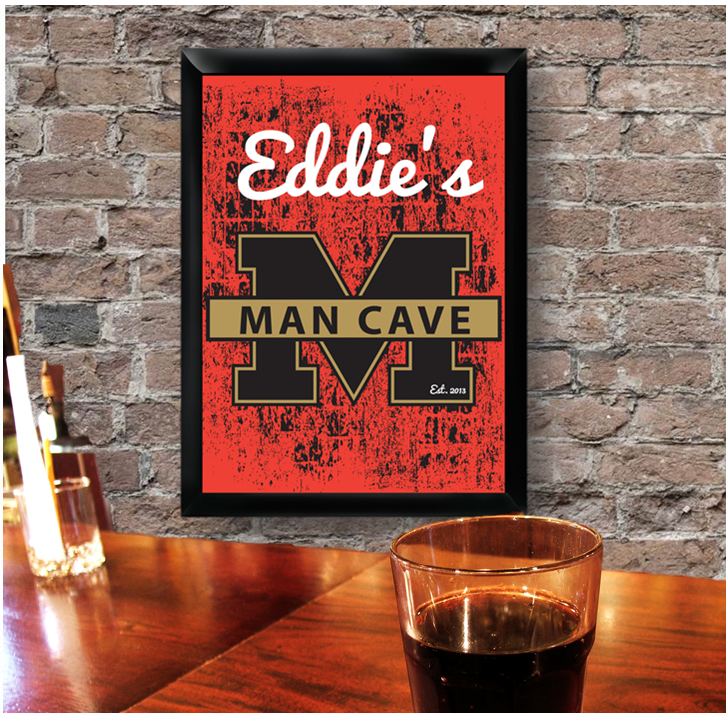 personalized pub signs that can easily ship to Canada for groomsmen gifts