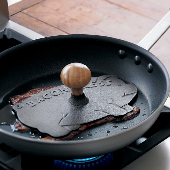 Father's Day Gift Idea: Cast Iron Pig-Shaped Bacon Press