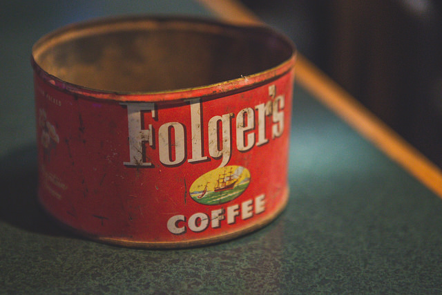 donnie's ashed in folger's coffee can