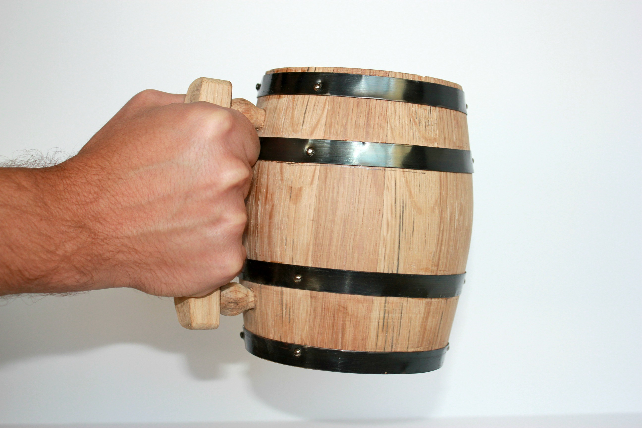 Oak Wood Mugs for Groomsmen on Etsy