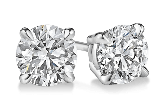 round-four-prong-basket-diamond-stud-earrings