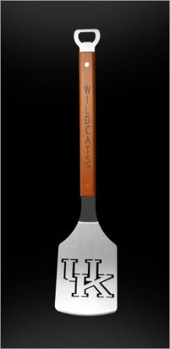This stainless steel grill spatula, which includes a handy bottle opener on the handle, lets you to imprint your favorite team's logo into your meat as you grill.