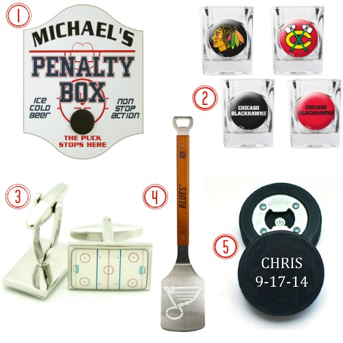 5 Gift Ideas for Groomsmen Who Love Hockey
