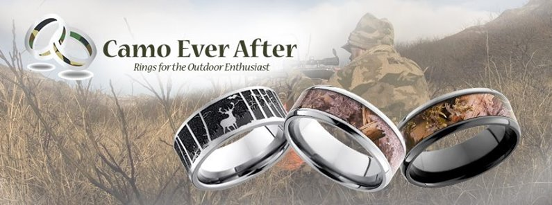 Shop hundreds of camo wedding rings at CamoEverAfter.com
